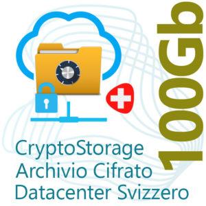 CryptoStorage 100Gb su Datacenter Svizzero