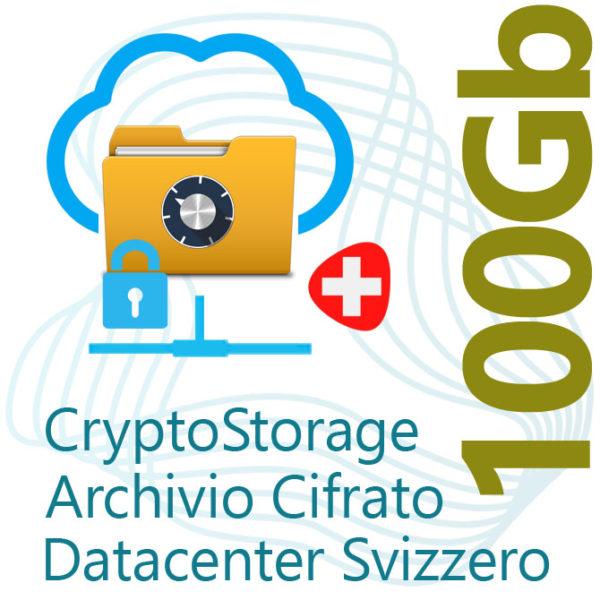 CryptoStorage 100Gb Encrypted Archive on Swiss Datacenter