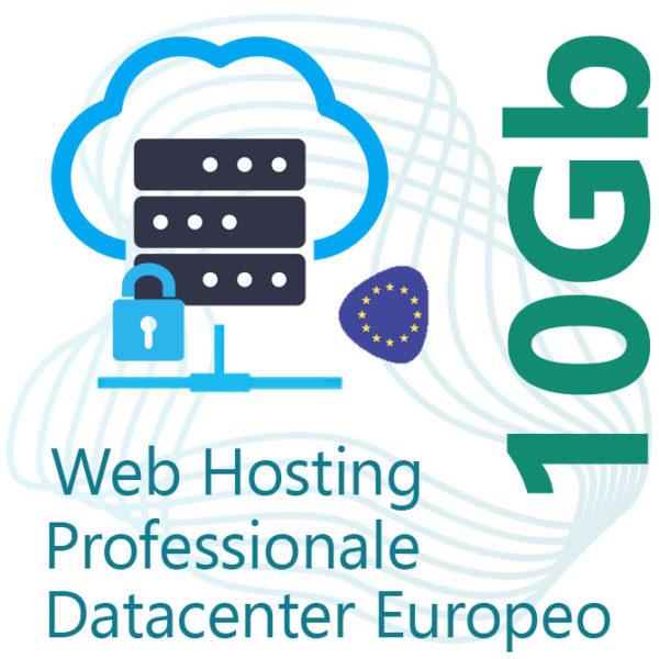 Web Hosting 10Gb su Datacenter Europeo