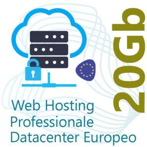 Web Hosting 20Gb su Datacenter Europeo