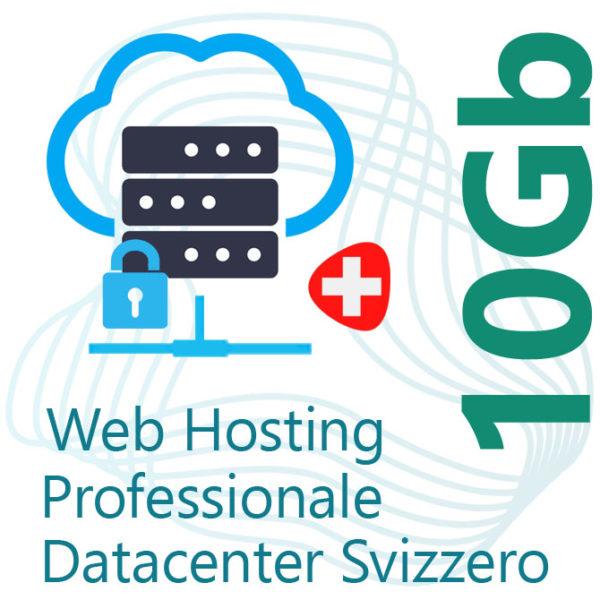 Web Hosting 10Gb su Datacenter Svizzero