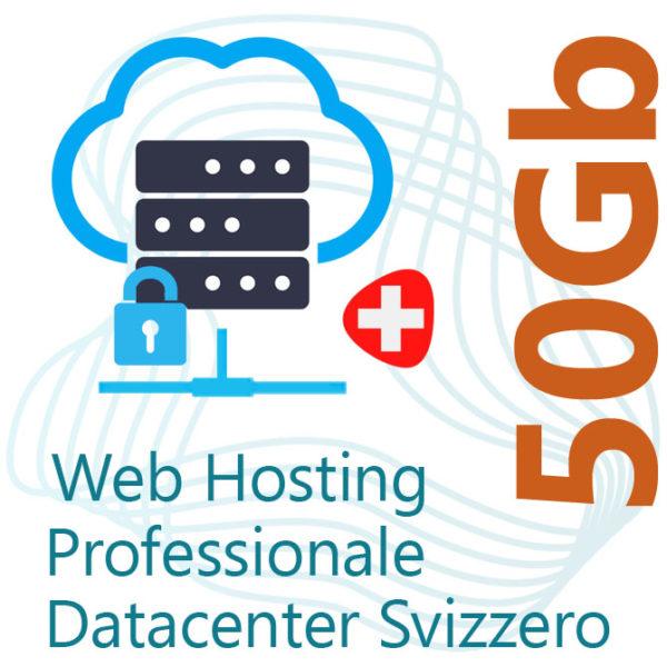 Web Hosting 50Gb su Datacenter Svizzero