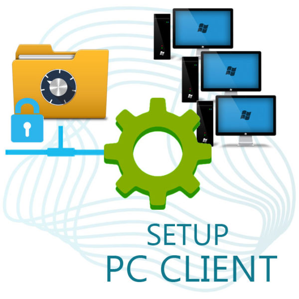PC Client Setup for Synchronization with CryptoStorage