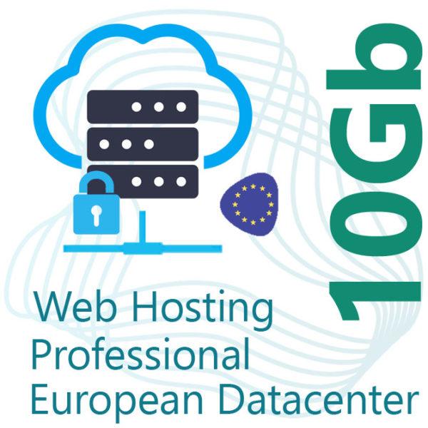 Professional Web Hosting 10Gb on European Datacenter