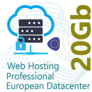 Professional Web Hosting 20Gb on European Datacenter