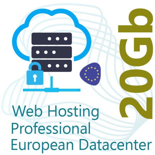 Professional Web Hosting 20Gb on European Datacenter