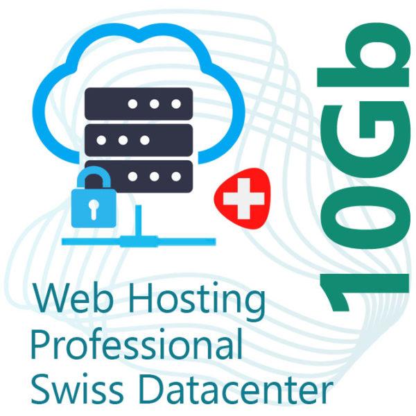 Professional Web Hosting 10Gb on Swiss Datacenter