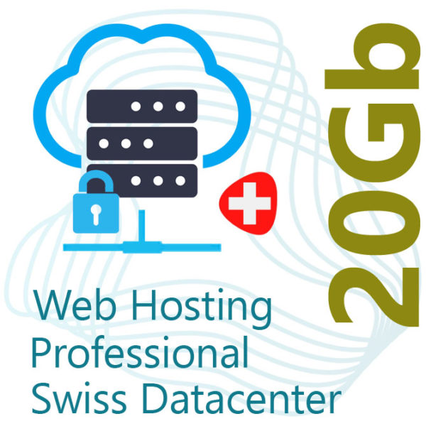 Professional Web Hosting 20Gb on Swiss Datacenter
