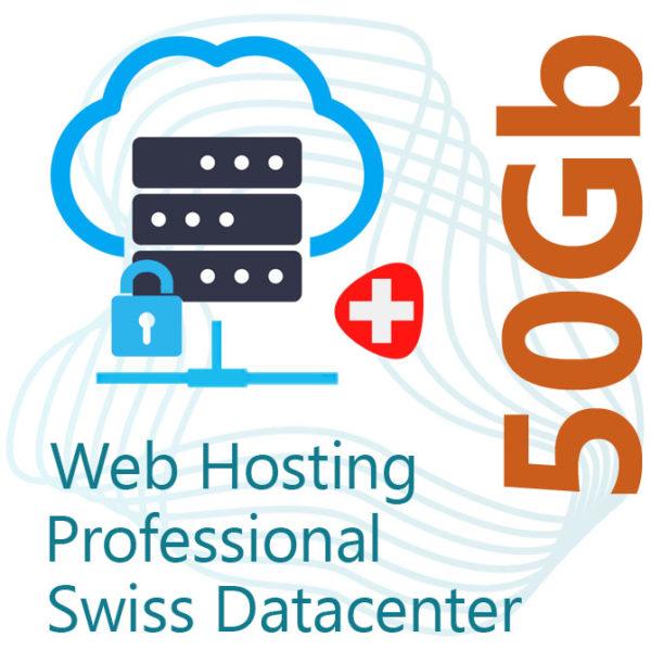 Professional Web Hosting 50Gb on Swiss Datacenter