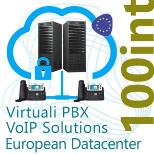 Virtual PBX VoIP in Cloud up to 100 Internal - DC Europe