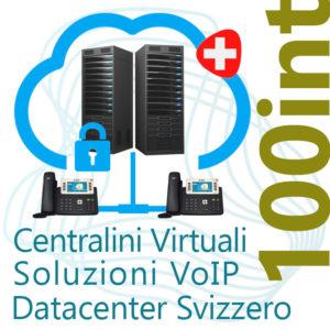 Centralino VoIP in Cloud fino 100 Interni - DC Svizzero