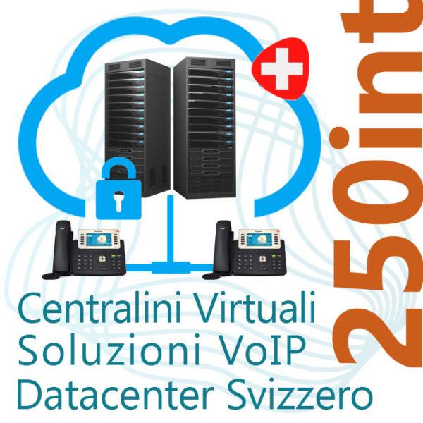 Centralino VoIP in Cloud fino 250 Interni - DC Svizzero