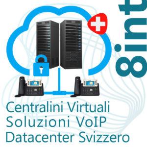 Centralino VoIP in Cloud fino 8 Interni - DC Svizzero