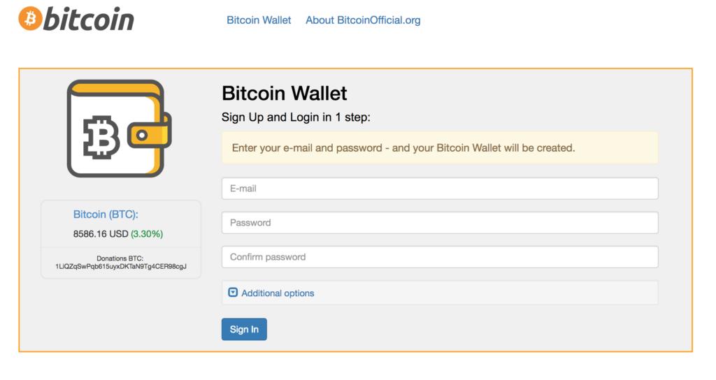 Wallet di Bitcoin
